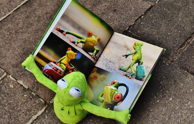 子ども、絵本好き