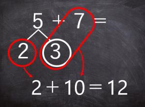 繰り上がり足し算の教え方